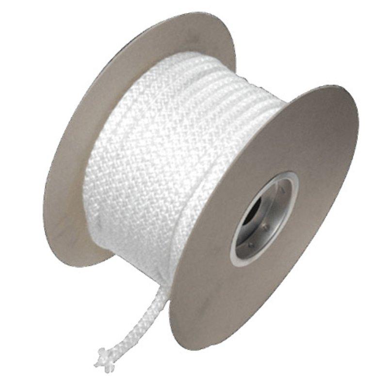 Fibreglass Soft Rope Seal 6mm - Sold per M - White