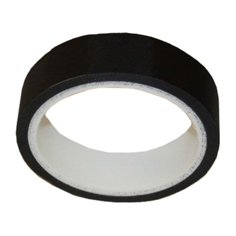 Fibreglass Adhesive Rope End Tape 25mm - Full Roll - Black