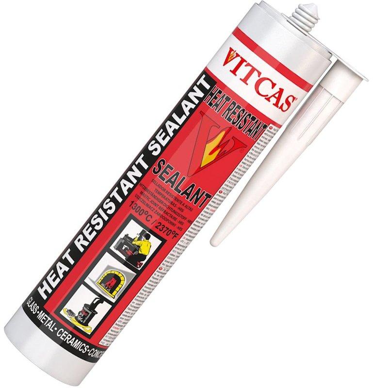 Vitcas Heat Resistant Sealant 310ml Cartridge - Black