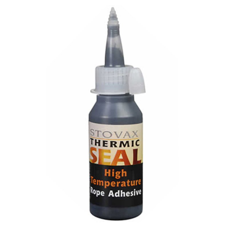 Stovax Thermic Rope Seal Glue 50ml Bottle - Black
