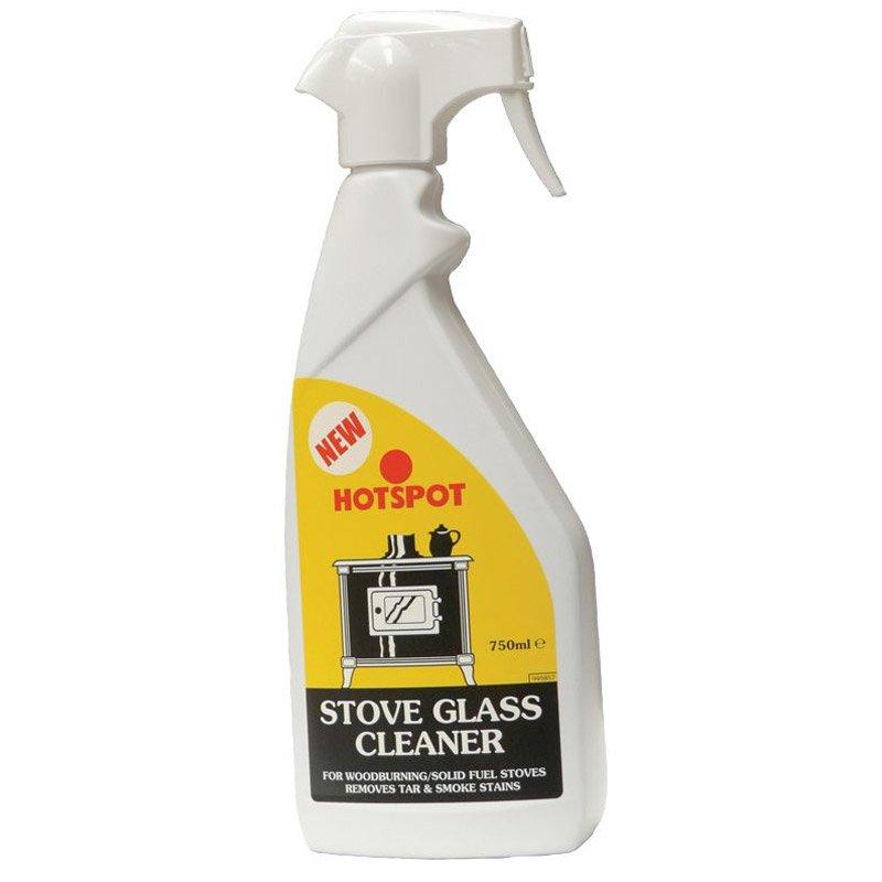 Hotspot Stove Glass Cleaner 750ml Trigger Bottle - Clear