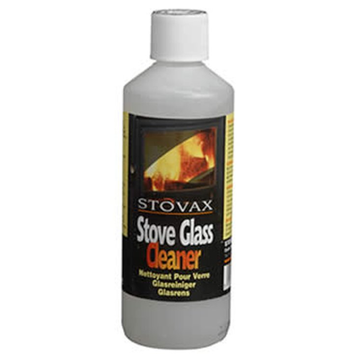 Stovax Stove Glass Cleaner Gel 500ml Bottle - Clear