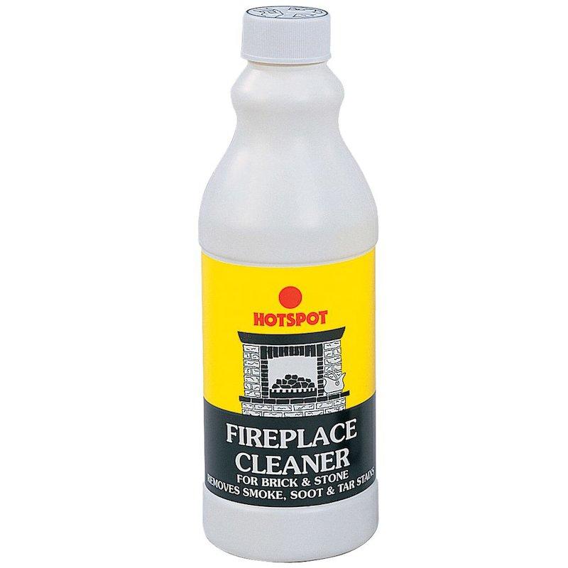 Hotspot Fireplace Cleaner 500ml Bottle - White