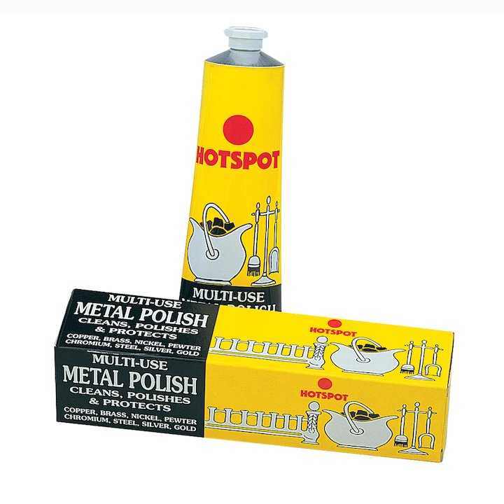 Hotspot Metal Polish 150ml Tube - White