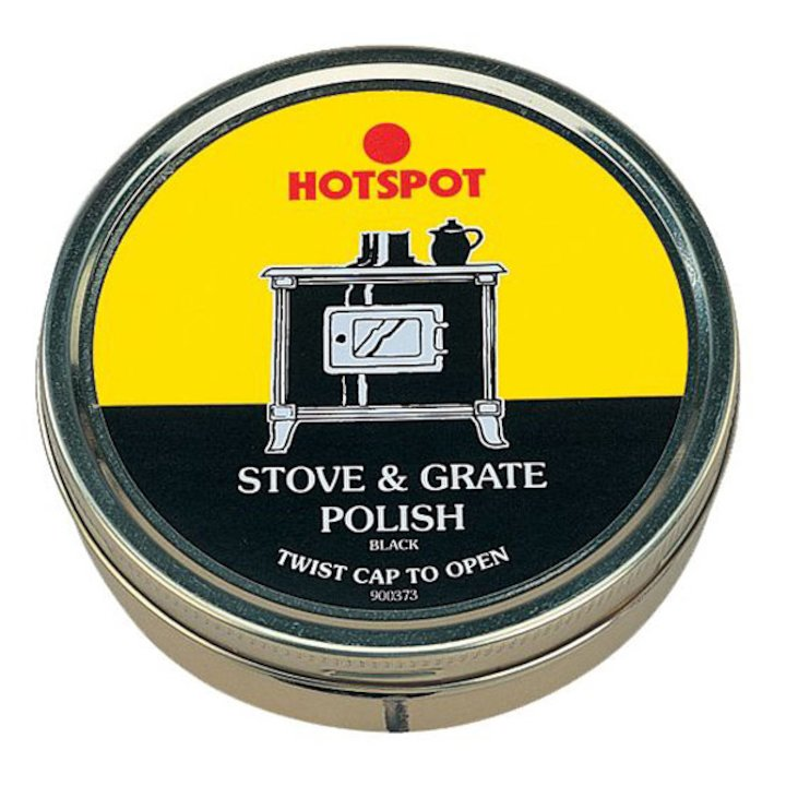 Hotspot Stove & Grate Polish 170g Tub - Black