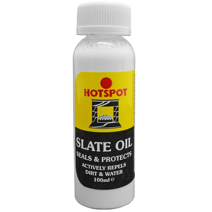 Hotspot Slate Oil 100ml Bottle - White
