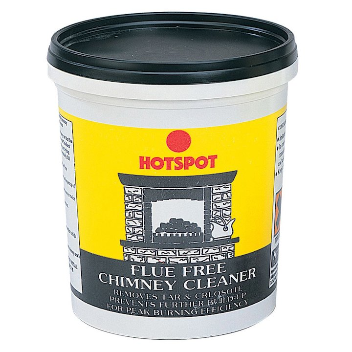 Hotspot Flue Free Chimney Cleaner Powder 750g Tub - Grey