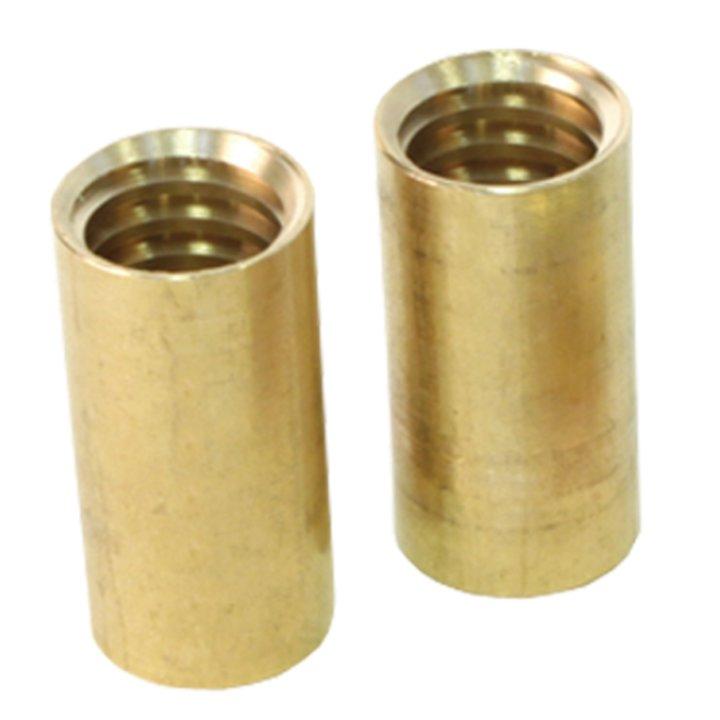 Rodstation Brass Chimney Sweeping Rod Adaptor - Brass