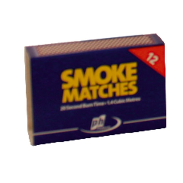 Calfire Smoke Matches - White