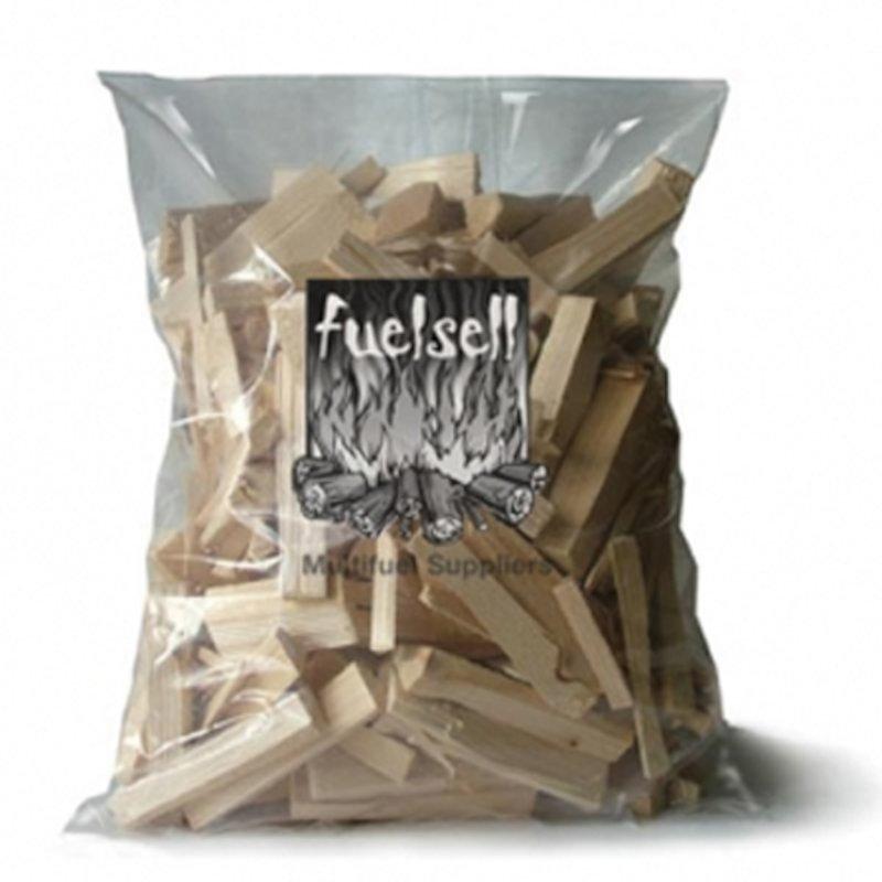 EVA Softwood Kindling Firewood - 3KG Bag - Brown