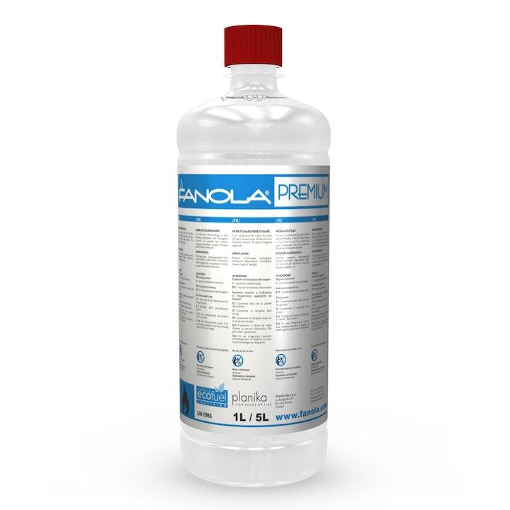 Fanola Premium Bio-Ethanol 1L Bottle - Clear