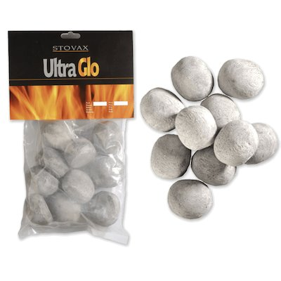Stovax Ceramic Gas Pebbles Grey Small