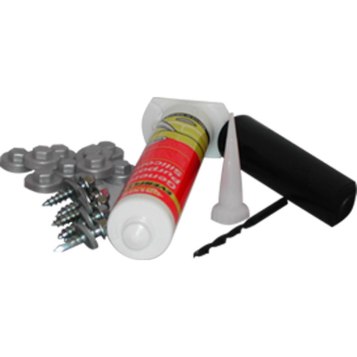 Dektite DFK1 Flat Roof Fixing Kit - Black