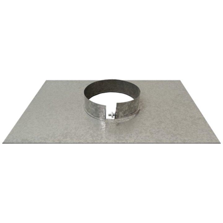 Triplelock Gas/Oil Debris Plate - Silver Filigree
