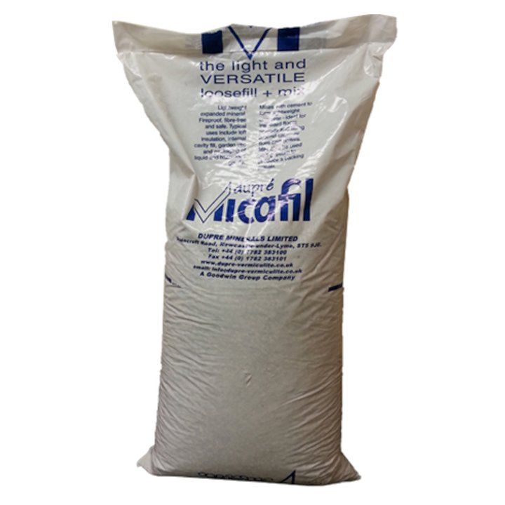 Quattro Plus Insulation Vermiculite Loose Fill 100L Bag - Cream