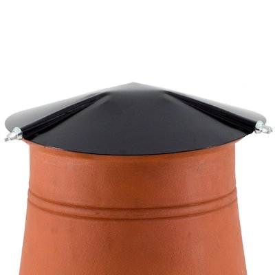 Brewer Chimney Pot Capper Black Hook Fix
