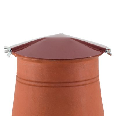 Brewer Chimney Pot Capper Terracotta Hook Fix
