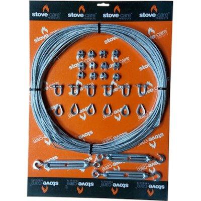 Convesa KC Twinwall Flue Guy Wire Kit