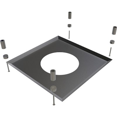 Convesa KC Twinwall Flue Magnetic Firestop Cover Plate