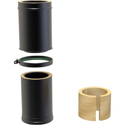 Convesa KC Twinwall Flue 350-500mm Adjustable Length