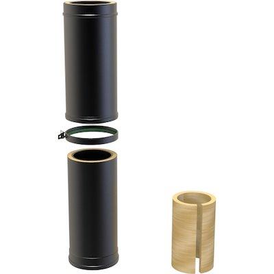 Convesa KC Twinwall Flue 550-900mm Adjustable Length