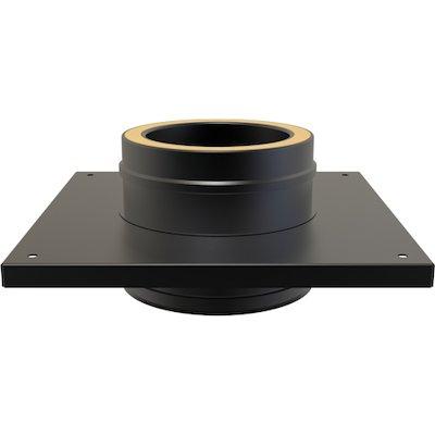 Convesa KC Twinwall Flue Flat Console Plate inc 200mm Length