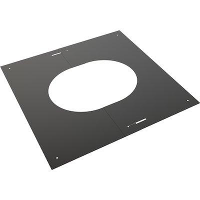 Convesa KC Twinwall Flue 30-45° Adjustable Trim Plate