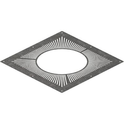 Midtherm HTS Twinwall Flue Ventilated Top Plate