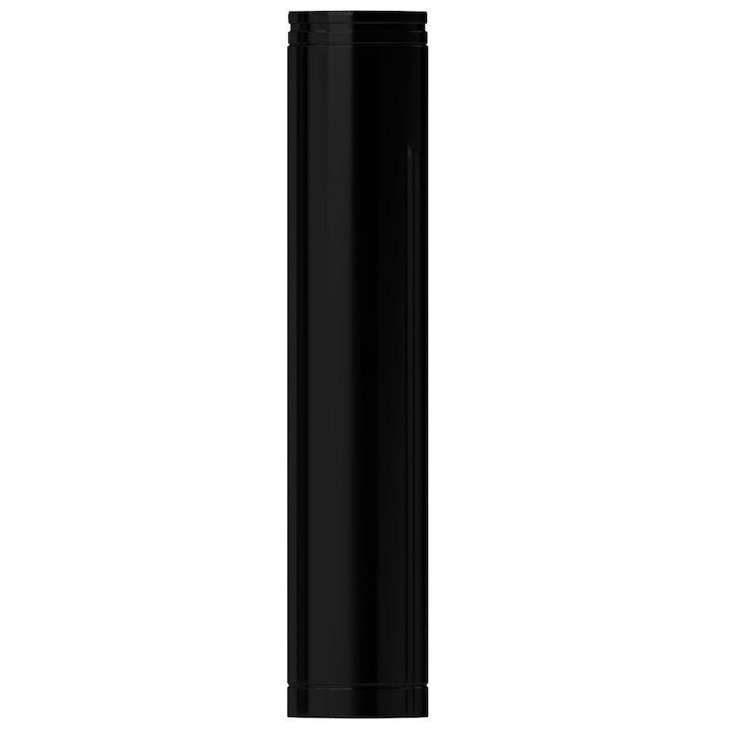 Midtherm HTS Twinwall Flue 1m Length - Black