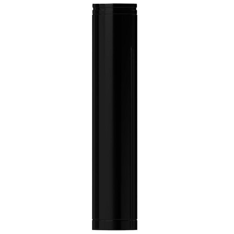 Midtherm HTS Twinwall Flue 1m Length 1mm Inner - Black