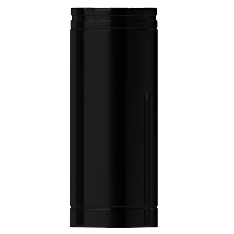 Midtherm HTS Twinwall Flue 500mm Length 1mm Inner - Black