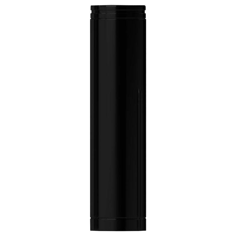 Midtherm HTS Twinwall Flue 800mm Length - Black