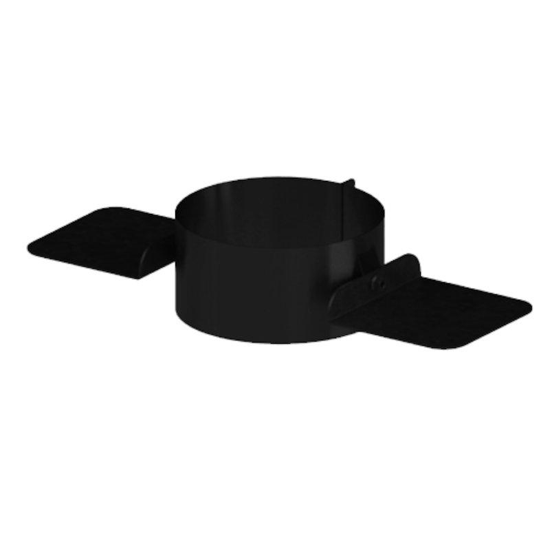 Midtherm HTS Twinwall Flue Heavy Duty Rafter Support Bracket - Black