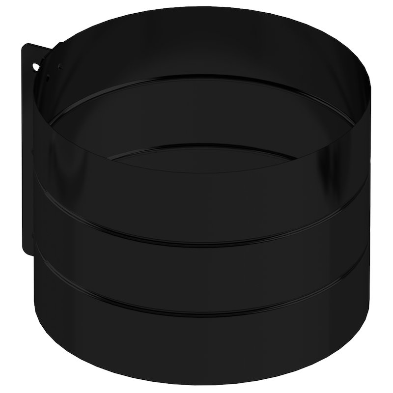 Midtherm HTS Twinwall Flue Structural Locking Bands - Black