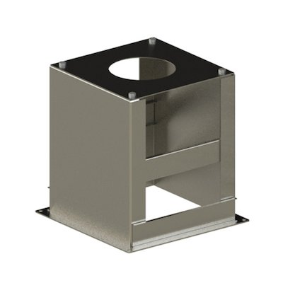 Midtherm HTS Twinwall Flue Telescopic Base Support
