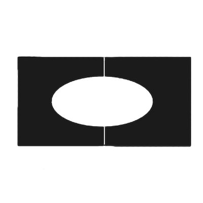 Midtherm HTS Twinwall Flue Flat Trim Plate