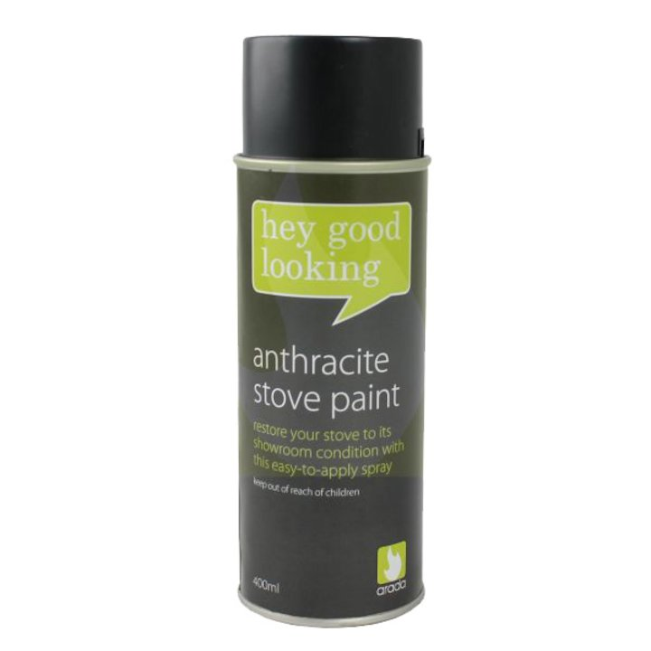 Arada Heat Resistant Stove Paint - Aerosol Spray - Atlantic