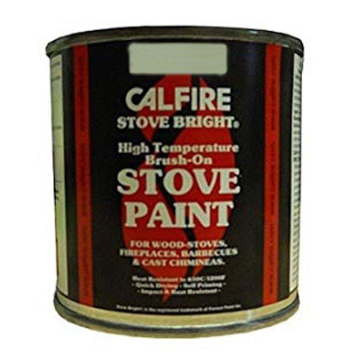 Stovebright Heat Resistant Stove Paint - Tin - Flat Black