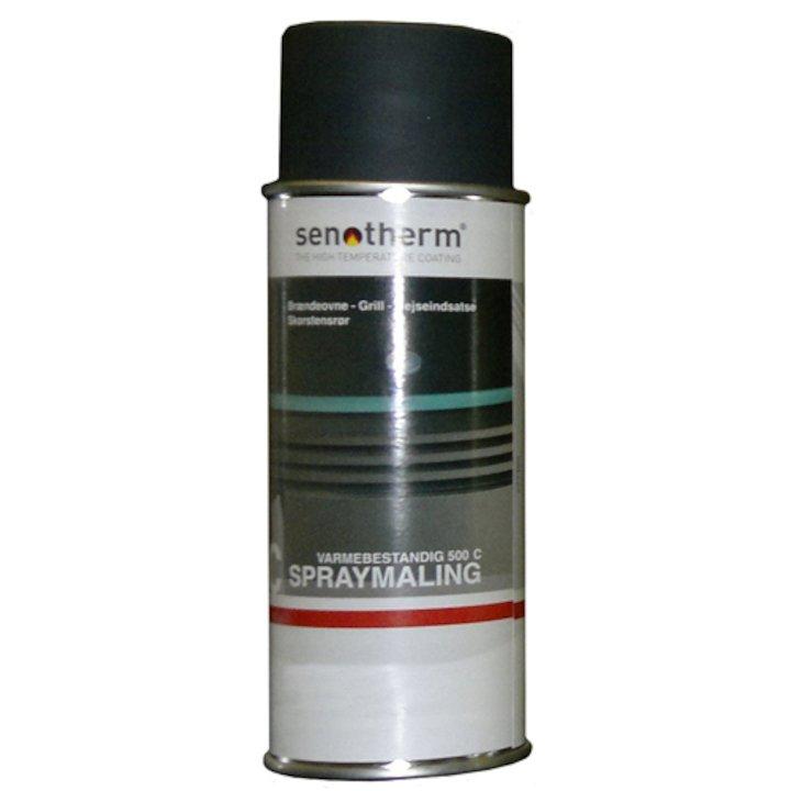 Senotherm Heat Resistant Stove Paint - Aerosol Spray - Black