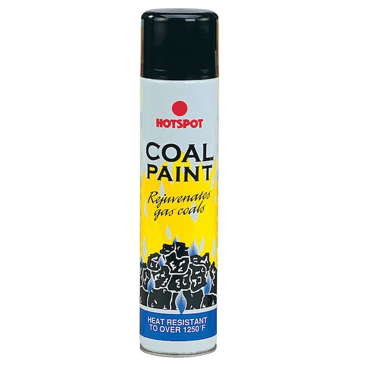 Hotspot Heat Resistant Coal Paint - Aerosol Spray - Matt Black
