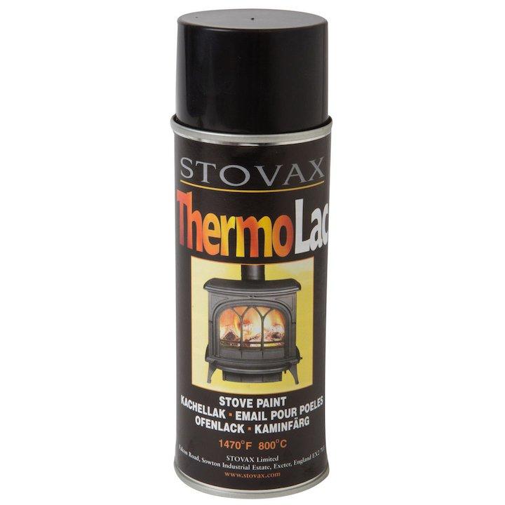 Thermolac Heat Resistant Stove Paint - Aerosol Spray - Anthracite