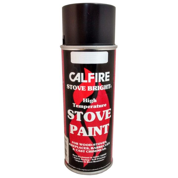 Stovebright Medium Temperature Clear Paint - Aerosol Spray - Clear