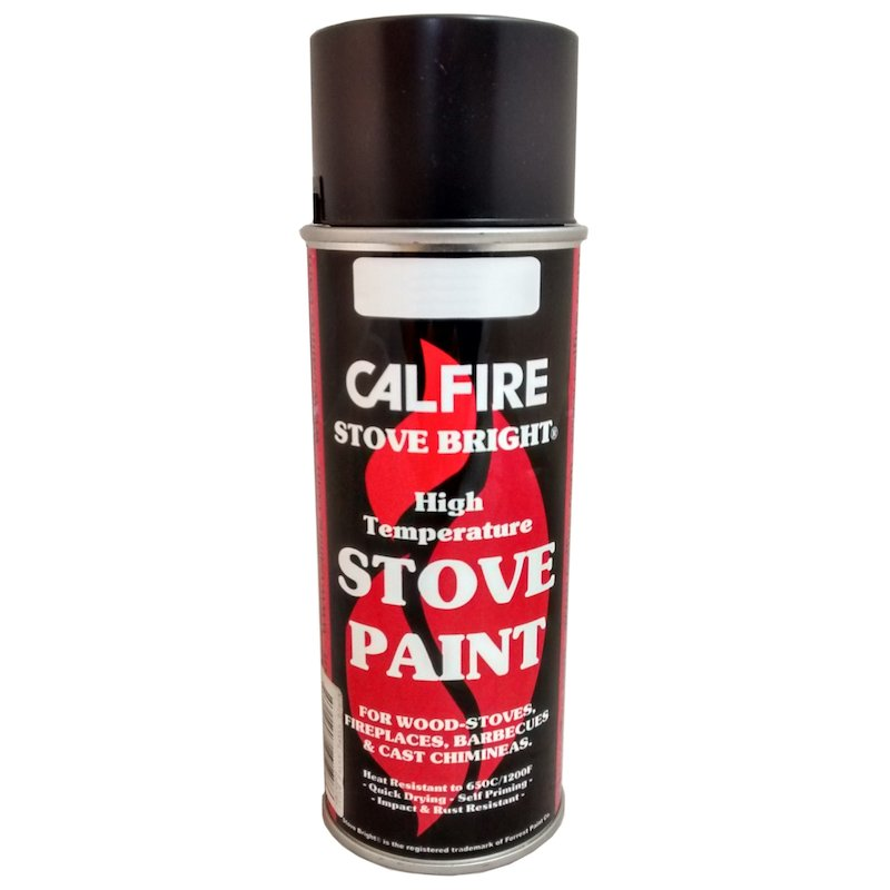 Stovebright Medium Temperature Clear Paint - Aerosol Spray - Clear
