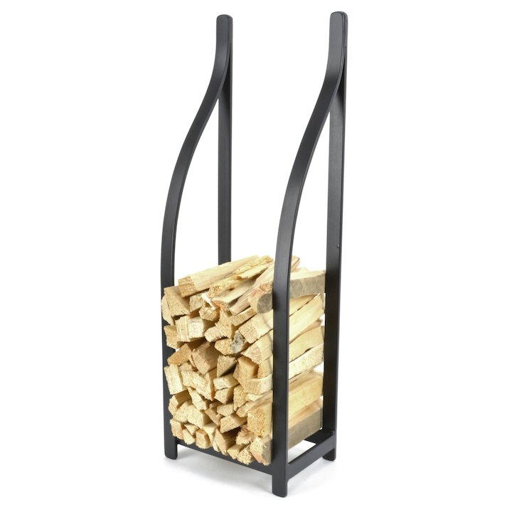 Manor Blacksmith Kindling Holder - Black