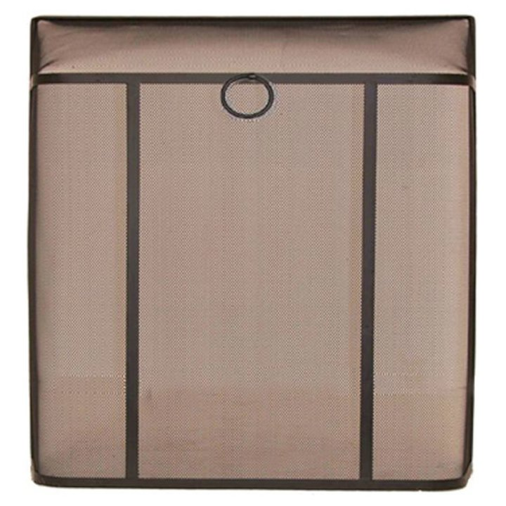 Calfire Bar Sparkguard Large Fire Screen - Black