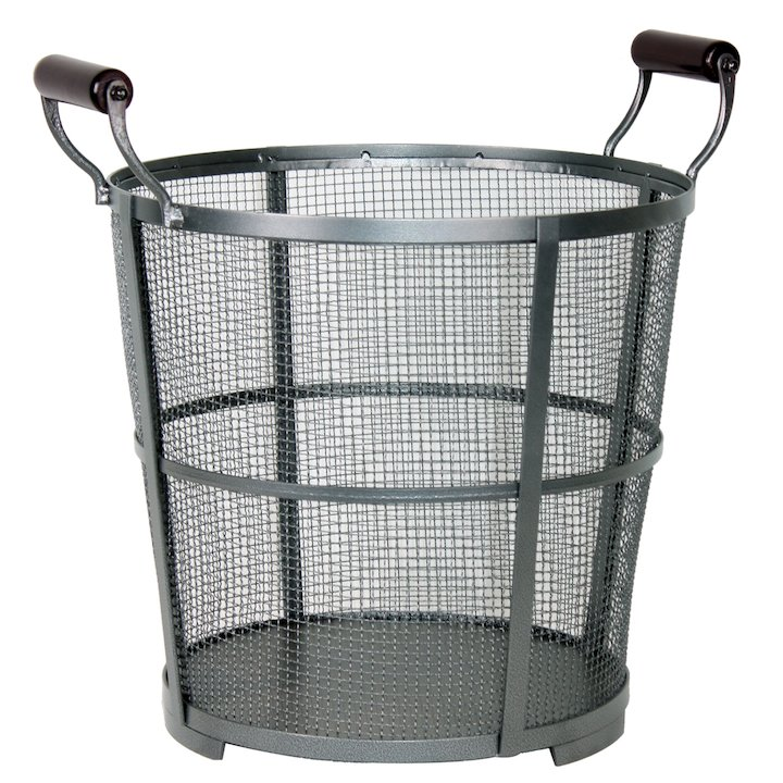Calfire Modern Mesh Log Bucket - Black
