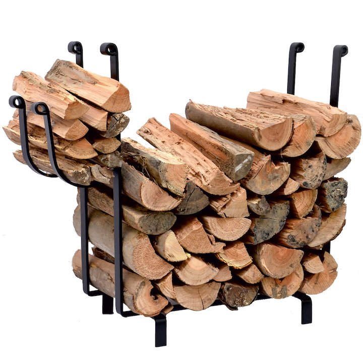 Calfire Harton Log Holder - Black