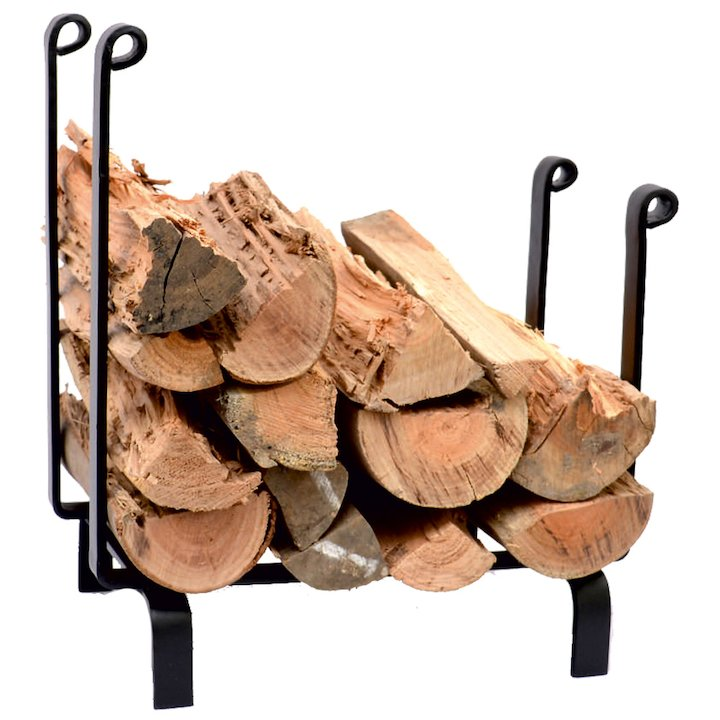 Calfire Birtley Log Holder - Black