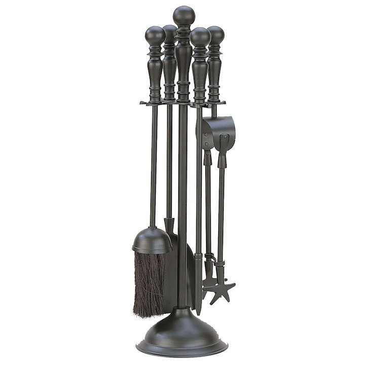 Firemaster Empress Fire Tool Companion Set - Clearance - Black