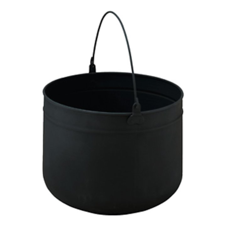 Stovax Large Pail Coal Bucket - Clearance - Black